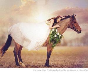 girl, photography, and animal image