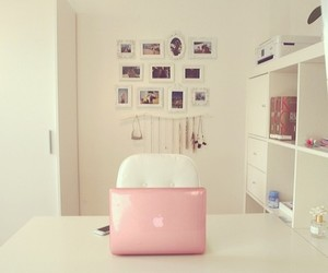 apple, girly, and room image