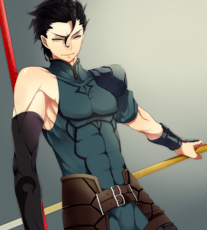 lancer, fate zero, and fate stay night image