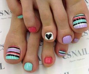 design, nail art, and nail polish image