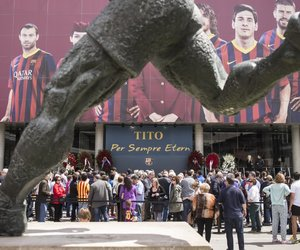 fc barcelona and tito vilanova image