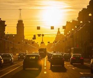 санкт-петербург, закат, and Слава Ионов image