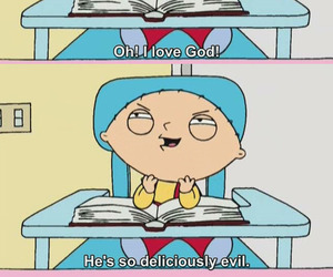 family guy, god, and stewie image