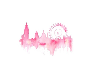 pink and london image