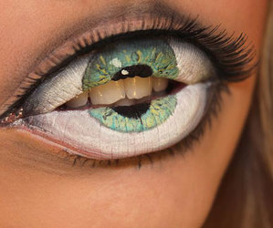 lips, eye, and eyes image