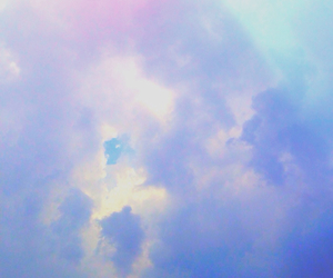 pastel, photography, and sky image