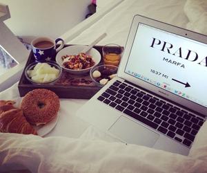 Prada, food, and breakfast image