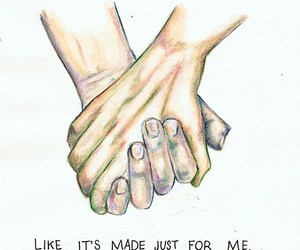 love, hands, and one direction image