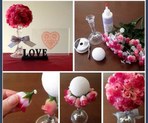 craft, diy, and flower image