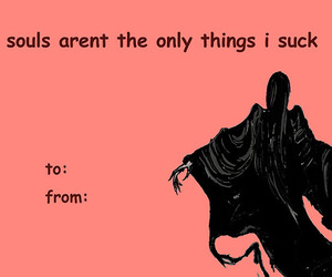 funny, valentine, and harry potter image