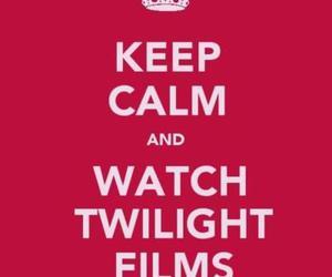 keep calm, movies, and twilight image
