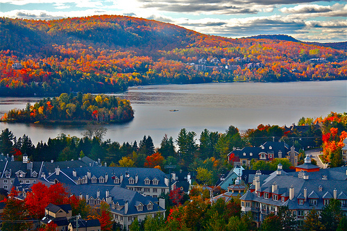 beautiful, canada, and house image