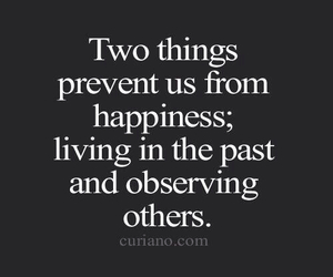 quotes, happiness, and past image