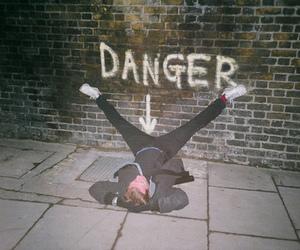 danger, boy, and grunge image