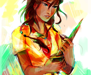 piper mclean, piper, and percy jackson image