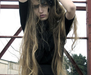 grunge, model, and photography image