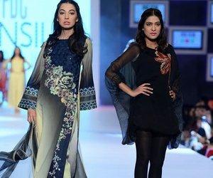 designer dresses, latest pakistani fashion, and pakistani fashion image