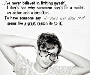 matthew gray gubler and quote image