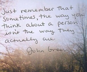 quote, john green, and people image