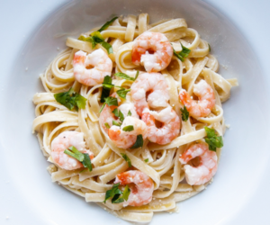 food, lunch, and pasta image