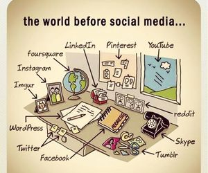 facebook, social media, and twitter image