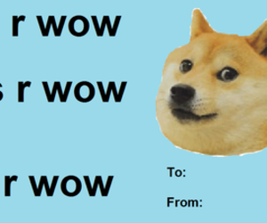 doge, meme, and valentines card image