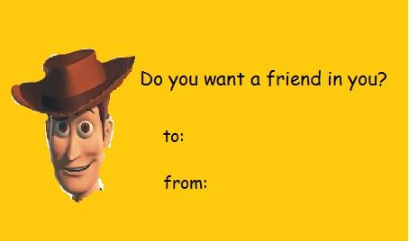 Image About Toy Story In Valentines Card By Sabotage