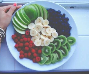 fruit, fit, and fitness image