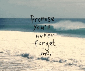 promise, quotes, and forget image