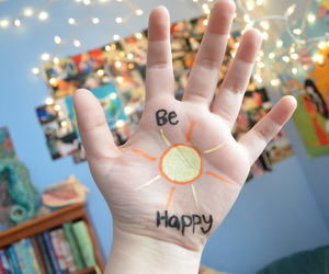 be happy, happy, and quality image