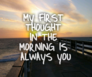quote, morning, and love image
