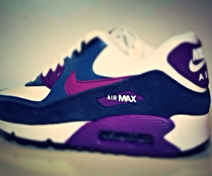 air max, blue, and mine image
