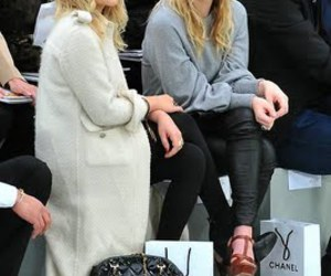 chanel, front row, and olsens image