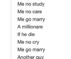 funny, marry, and guy image
