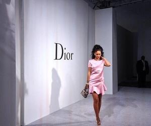 rihanna, dior, and pink image