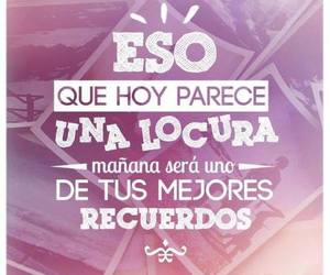 frases, locura, and memories image