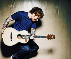 ed sheeran, guitar, and music image