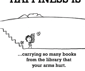 books, happiness, and hurt image