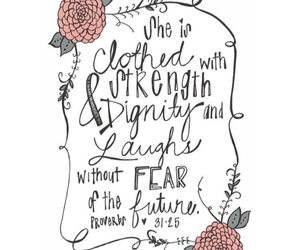 girls, quote, and strength image