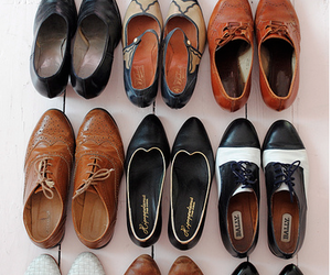 shoes, vintage, and oxfords image