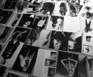 black and white, celebrities, and Collage image