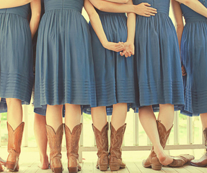 cowboy boots and dress image