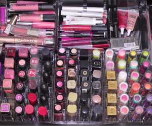 collection, makeup, and lipstick image