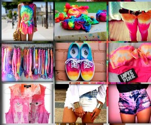 clothes, colorful clothes, and hippie image