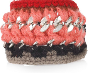 bracelet, chain, and wool image