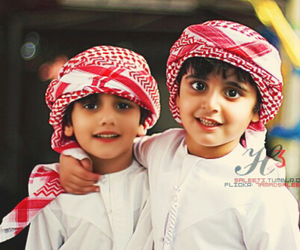 cute children, islam, and smile image