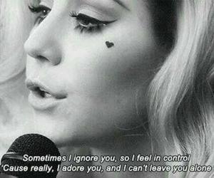 lyric, marina and the diamonds, and quotes image