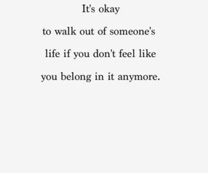 quotes, sad, and it's okay image