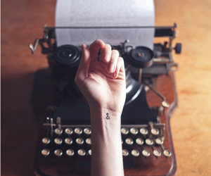tattoo, hand, and vintage image