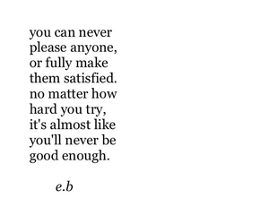 insecure, sad, and good enough image